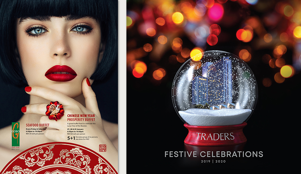 Creative design for Traders Hotel