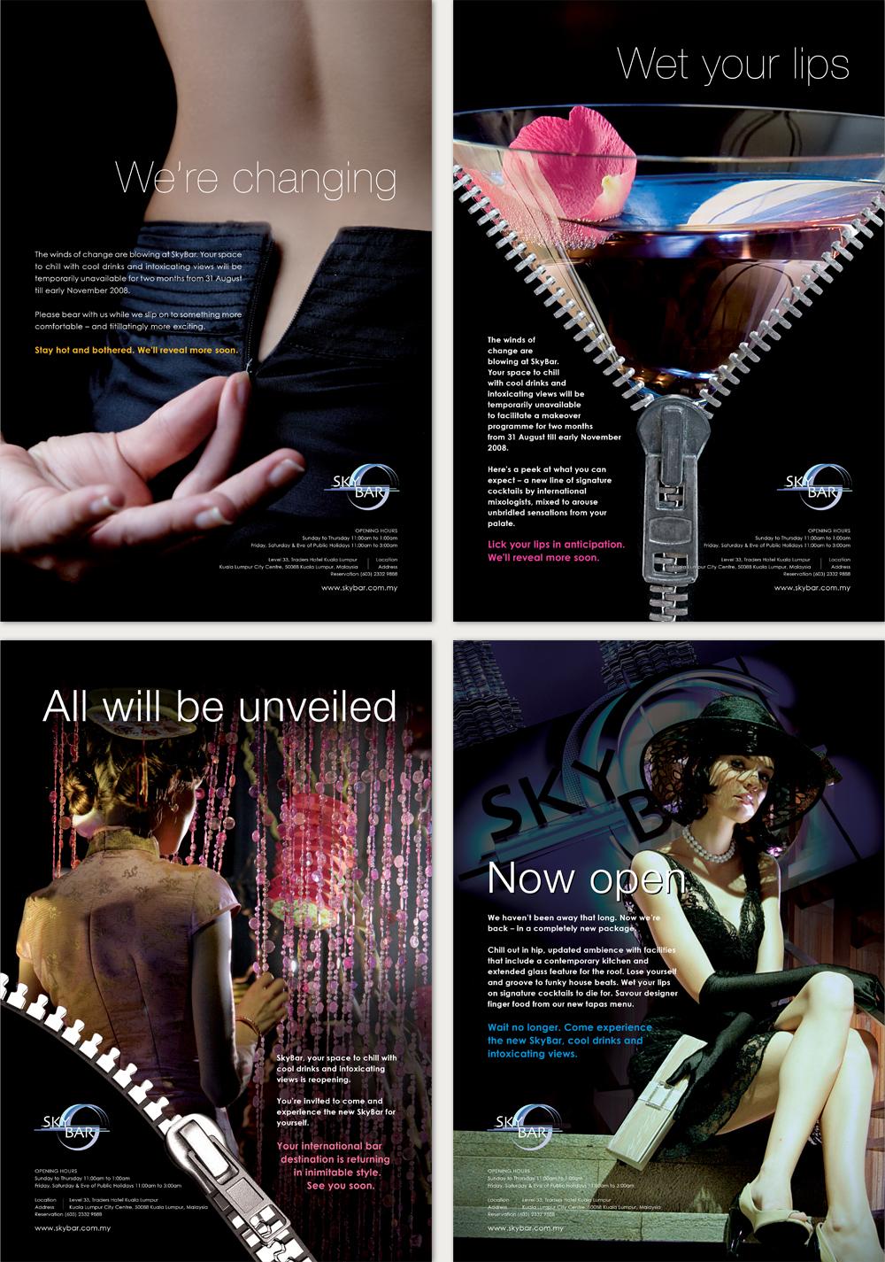 Creative design for SkyBar