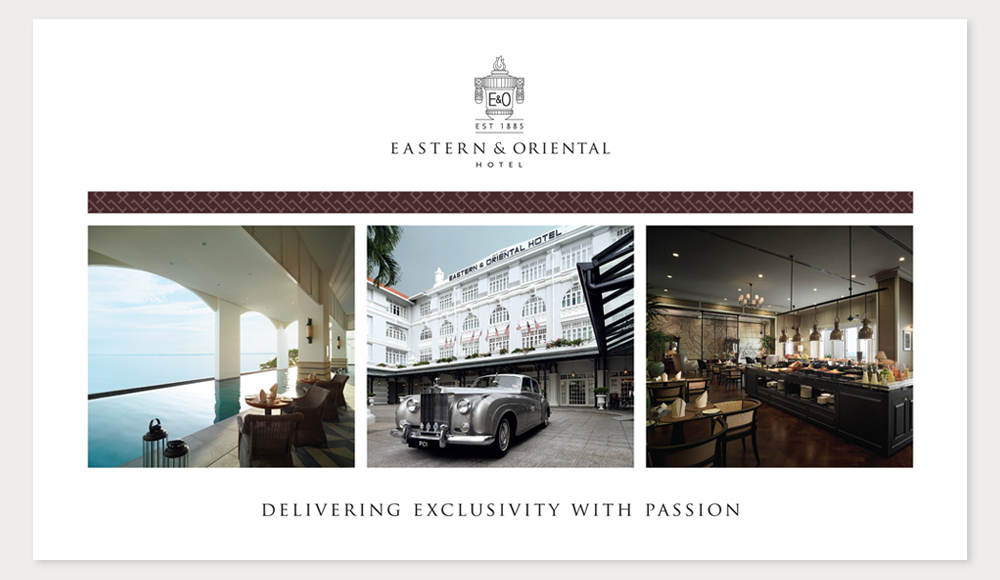 Creative design for E&O Hotel