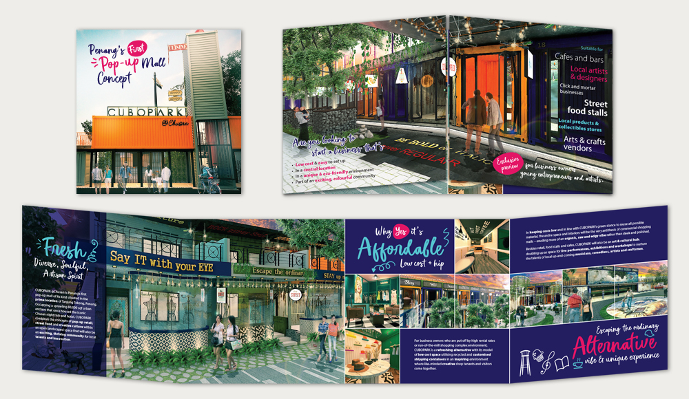 Brochure Design for CuboPark