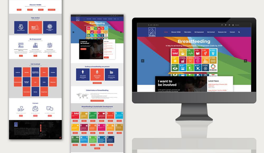 Waba website design 2020