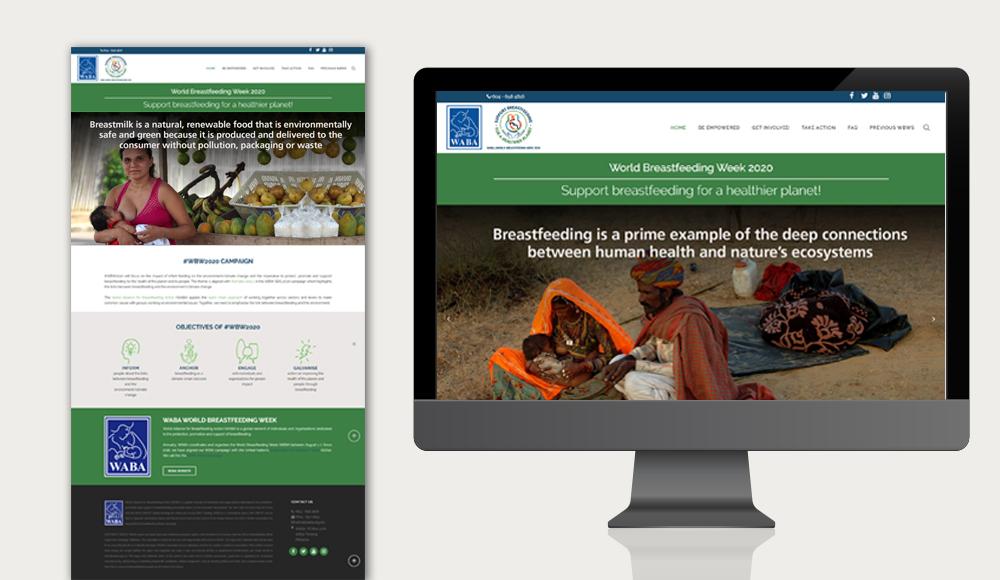 WBW 2020 website design
