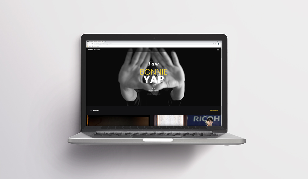 Website design for Bonnie Yap Photography
