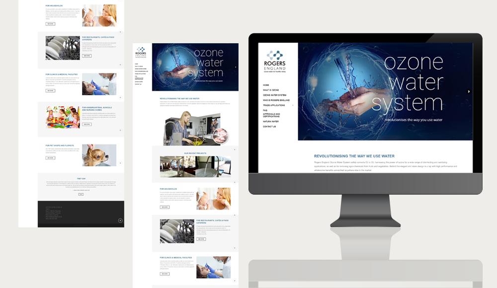 Rogers England Web Design