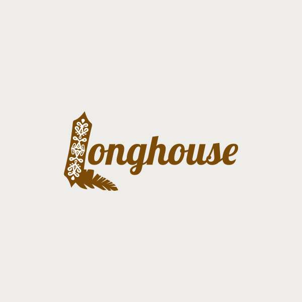 Logo design for Longhouse restaurant