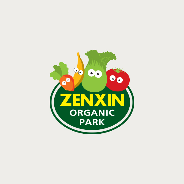 Logo design for Zenxin Organic Park