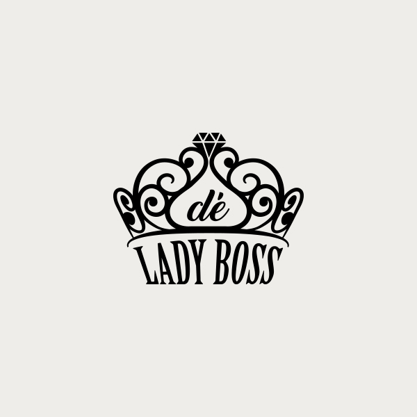 Logo design for De Lady Boss