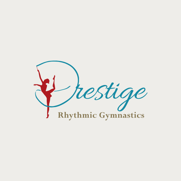 Logo design for Prestige Rhythmic Gymnastics