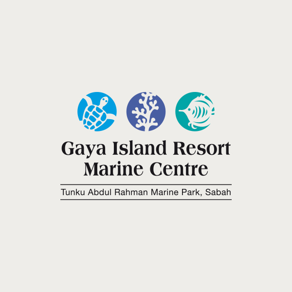 Logo design for Gaya Island Resort Marine Centre