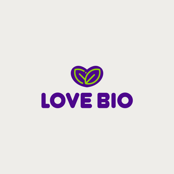 Logo design for Love Bio