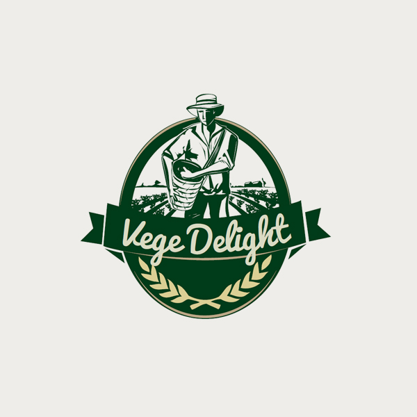 Logo design for Vege Delight