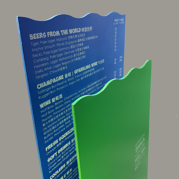 Menu design by C-Square