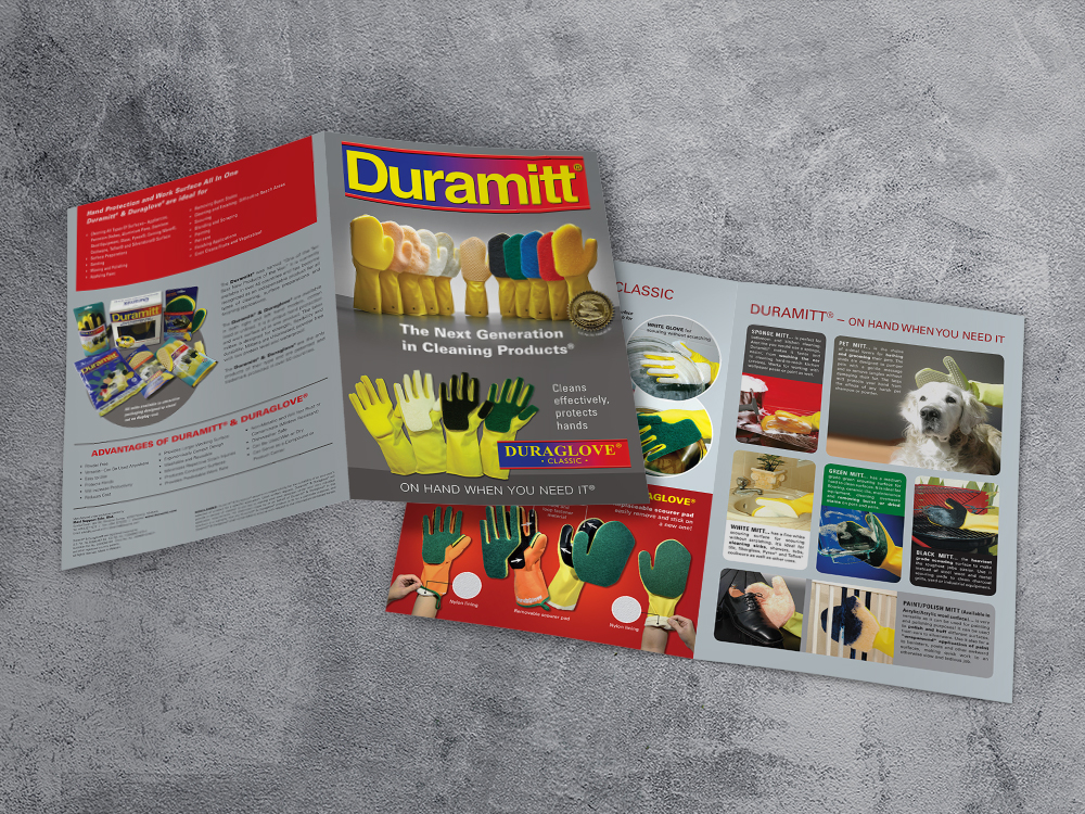 Duramitt brochure design by C-Square