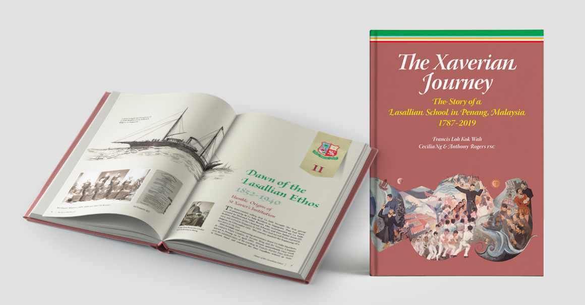 Book design Xaverian Journey